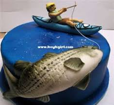 This rainbow trout cake was made for my husband's 40th birthday this past week. Birthday Cakes Fishing Birthday Cake Ideas For Women Yesbirthday Home Of Birthday Wishes Inspiration
