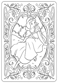 Print or download for free! Printable Disney Snow White Pdf Coloring Pages