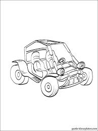 Buggy Auto Kleurplaten Gratis Kleurplaten