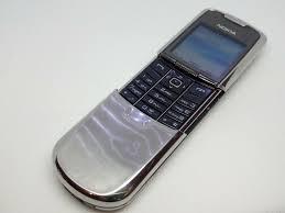 Nokia 8800 Classic Black RM-13 sliver ...