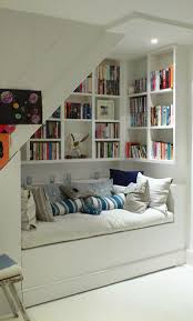 Captivating Design By Under Stair Storage Shelves With Sofa Bed ...