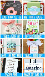 more goodbye gifts for teachers