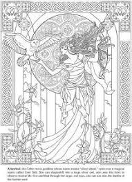 Disegni Da Colorare Per Adulti Art Nouveau 15 Disegni E Colori