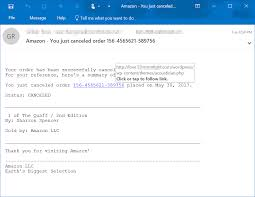 How To Cancel Microsoft Order Links In Phishing Like Emails Lead To Tech Support Scam