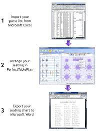 Create Your Seating Chart With Microsoft Office And