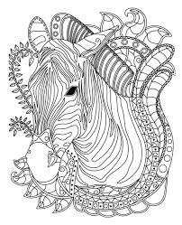 zebra colorish coloring book for s mandala relax by goodsofttech