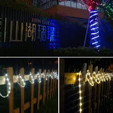 Solar Bar Light Us 19 99 30 Off Solar Powered Led Strip Tape Smd2835 100led Waterproof Solar Lamp Lawn Outdoor Decoration Fairy Light Xmas Party Garden Lights In