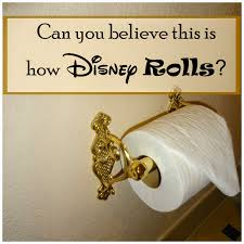 Disney Bathroom Fairytales And Fitness This Is How Disney Rolls