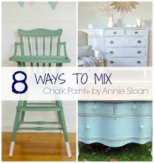 Annie Sloan Chalk Paint Mixing Chart 8 Ways To Mix Chalk Paint Colors The Golden Sycamore