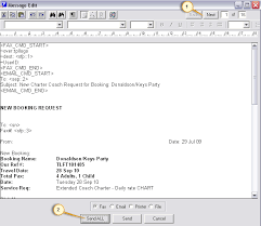 Example Of A Fax Message Send Messages
