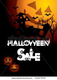 halloween sale flyer halloween sale flyer halloween sale banner stock vector 711539395
