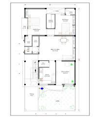 impressive 30x60 house plan 30 60 1 option plans north facing