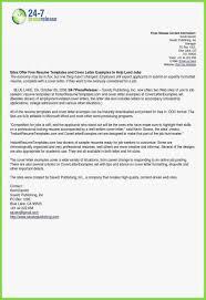 Job Cover Letter Sample 29 Types Letter Writing Resume Cover