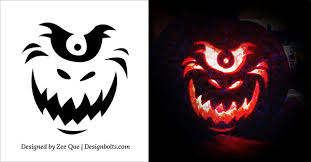 Free Pumpkin Carving Patterns Inspiration Free Printable Pumpkin Patterns Selolinkco