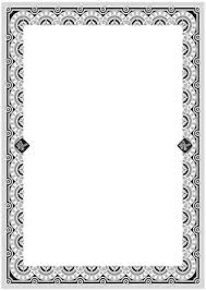 Free Certificate Templates For Word Silver Frame Border Template With A Grey And Blue Ribbon 123