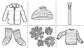 Small Picture winter clothes coloring pages printable printables winter clothes