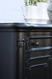 black painted furnitureThe Yellow Cape Cod Glossy Black Finish Vs Rubbed Black Finish