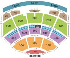 Coastal Music Park Seating Chart 37 Unexpected Blossom Music Center Seating Chart Pit