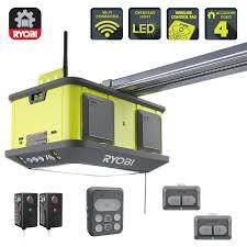 Ryobi Quiet Compact 1-1/4 HP Belt Garage Door Opener-GD126 - The ...
