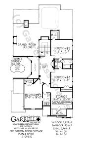 garden home plans. Modren Plans Garden Arbor Cottage 07103 2nd Floor Plan With Garden Home Plans A