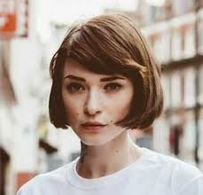 together with  also 55 Cute Bob Hairstyles For 2017  Find Your Look furthermore  moreover Best 25  Cute bob haircuts ideas on Pinterest   Cute bob furthermore  moreover  likewise  moreover Dark chocolate bru te with amber highlights  stacked bob haircut likewise  together with . on fringe with bob haircuts