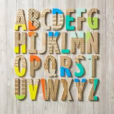 decorating with wooden letters inspiring design