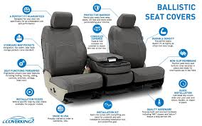 ballistic tactical seat cover