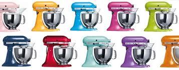 kitchenaid mixer color chart. colors of kitchenaid mixers stand mixer image gallery - hcpr color chart