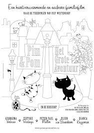 Alice Kleurplaten With Regard To Poes Van Jip En Janneke Kleurplaat