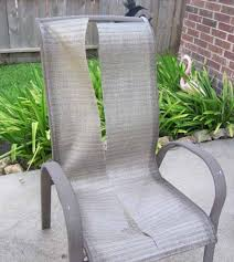 Patio Furniture Sling And Vinyl Replacements Pool And Outdoor Redoing Outdoor Furniture