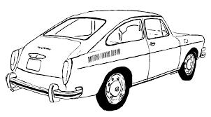 Volkswagen van drawing at getdrawings free for personal use