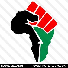 African landscape silhouette free vector. I Love Melanin African American Svg Files For Cricut Silhouette