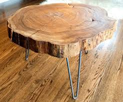 ... Large-size of Swish Semi Triangle Base Placed On Brown Wooden Ing Tree  Stump Coffee ...