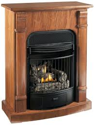 free standing gas log fireplace four in one dual fuel vent free gas fireplace free standing