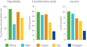 Whey Protein Chart Medical Beverage With 10 Whey Protein Arla Foods Ingredients