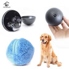 4 Color Set Electric <b>Toy</b> Ball Dog <b>Cat Toy Automatic Pet</b> Plush Ball ...