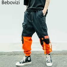 <b>Bebovizi</b> Harajuku Hip Hop Streetwear Harem Pants <b>2019 Male</b> ...