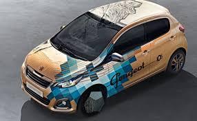 Peugeot 108 Tattoo Kolínský Lvíček S Kérkou Autocz