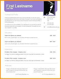 Download Word Doc Job Resume Format Download Free Resume Format Downloads Template