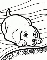 Christmas Coloring Sheets Dog 2 With Big Baby Dogs Pages Cute Puppy