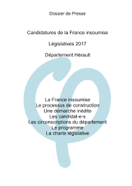 Charte France Insoumise Dp Insoumis Herault By Herault Tribune Sas Gsm Issuu