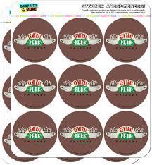 Friends Central Perk Logo Planer Kalender Scrapbooking Basteln Aufkleber:  Amazon.de: Küche & Haushalt