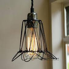 wire cage light shade industrial style small black wire cage light shade bronze wire industrial cage
