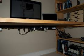 amazing diy nomad bookshelf desk greenvirals style intended for new house desk power strip prepare