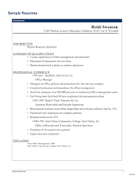 Office Manager Resume Sample Remarkable Qualifications In ...