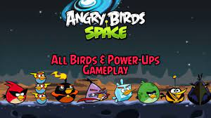 Angry Birds Space - All Birds & Power-Ups Gameplay - YouTube