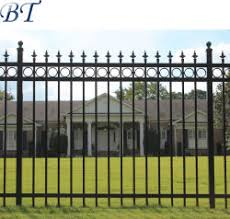 China Wrought Iron Fence Wrought Iron Fence Manufacturers