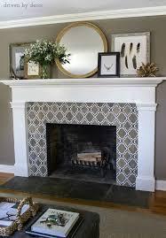 Decorative Fireplace Tile Ideas
