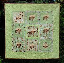 Baby Quilts | Piecemakers4Life & Monkey See Quilt Adamdwight.com