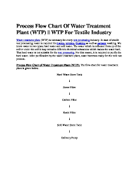 Process Flow Chart Of Water Treatment Plant Ylyxe7pgwznm